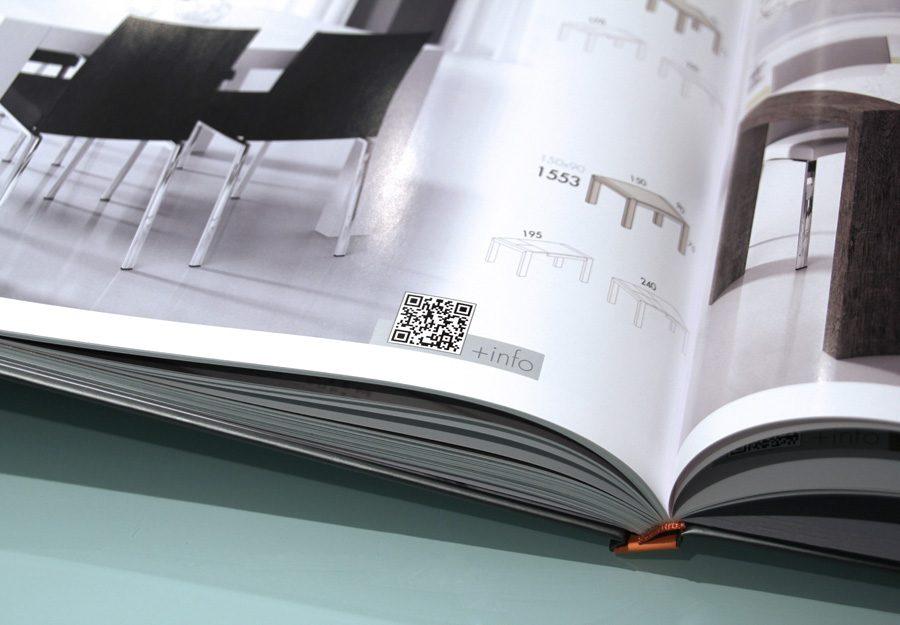 diseño de catálogos muebles. Ferrando Studio